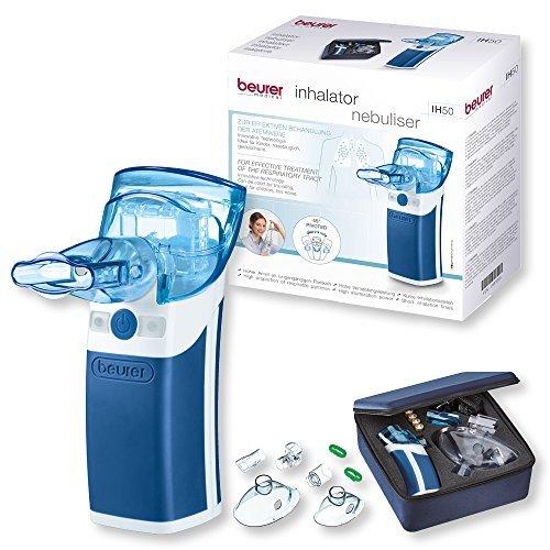 beurer ih 50 inhalator mit schwingmembran technologie medizinprodukt mit umfangreichem zubehoer auch fuer kinder geeignet - Beurer IH 50 Inhalator mit Schwingmembran-Technologie, Medizinprodukt mit umfangreichem Zubehör, auch für Kinder geeignet